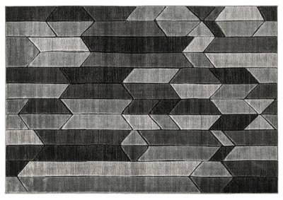 Image for Chayse Black/Grey Medium Rug