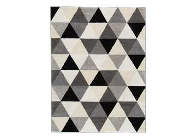 Image for Jamaun Black/Cream Medium Rug