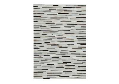 Lebelle White/Black Large Rug