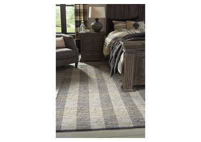 Christoff Gray Large Rug