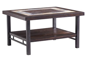 Gallivan Brown Rectangular Cocktail Table