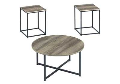 Wadeworth 3 Piece Occasional Table Set