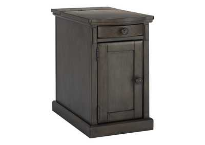 Image for Laflorn Gray Chair Side End Table