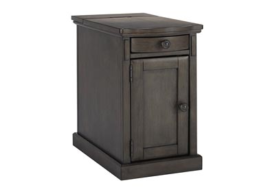 Laflorn Gray Chair Side End Table