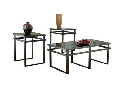 Image for Laney Occasional Table Set (Cocktail & 2 Ends)
