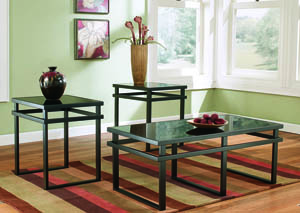 Laney Occasional Table Set (Cocktail & 2 Ends)