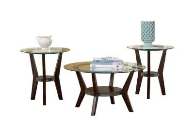 Image for Fantell Occasional Table Set (Cocktail & 2 Ends)
