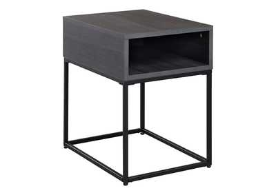 Image for Yarlow Black End Table