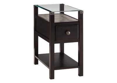 Image for Diamenton Almost Black Chair Side End Table