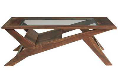 Charzine Brown Coffee Table