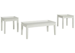 Ardintown White Occasional Table Set