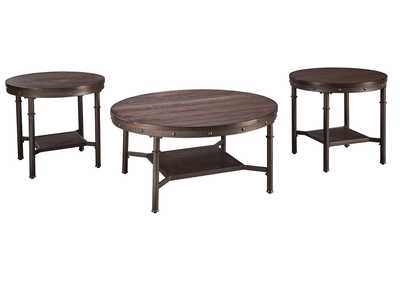 Image for Sandling Occasional Table Set (Cocktail & 2 Ends)