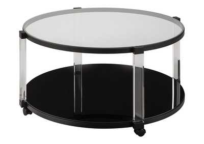Image for Delsiny Black Coffee Table