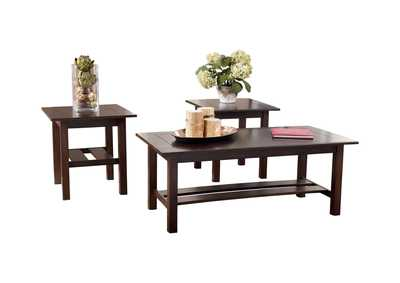 Image for Lewis Occasional Table Set (Cocktail & 2 Ends)
