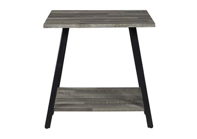 Harzoni Gray End Table