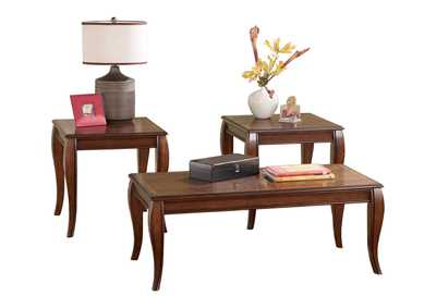 Mattie Occasional Table Set (Cocktail & 2 Ends)