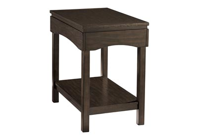 Haddigan Brown Chair Side End Table