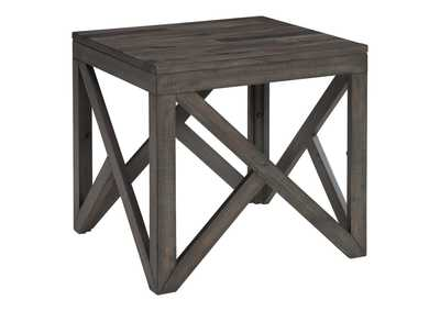 Image for Haroflyn Gray Square End Table