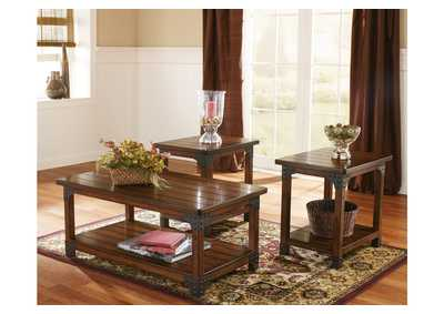 Beau Murphy Occasional Table Set (Cocktail U0026 2 Ends)