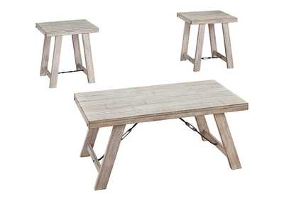 Carynhurst Whitewash Table (Set of 3)