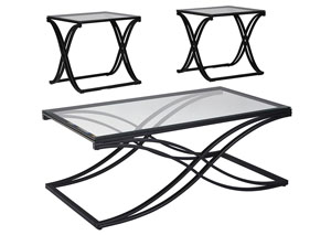 Jandor Black Occasional Table Set
