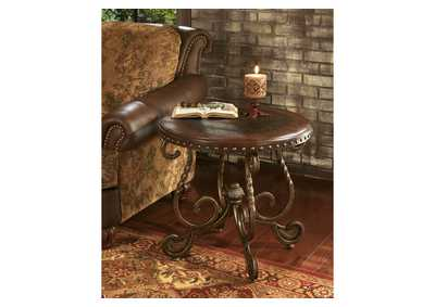 Rafferty Round End Table