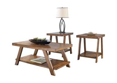 Image for Bradley 3 Piece Occasional Table Set