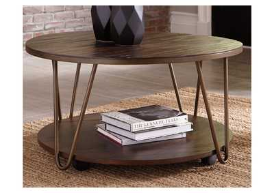 Image for Lettori Brown Coffee Table