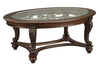 Norcastle Oval Cocktail Table