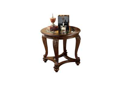 Norcastle Round End Table