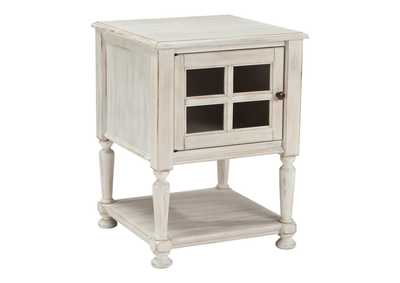 Cottage Accents Chair Side End Table