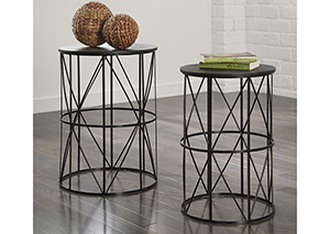 Marxim Multi Nesting End Tables (Set of 2)