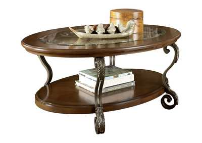 Image for Nestor Oval Cocktail Table