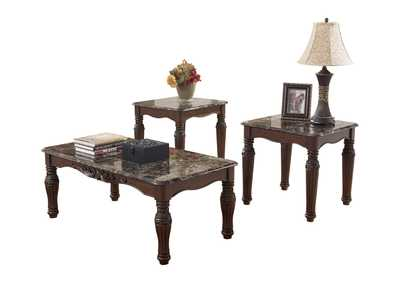 North Shore Cocktail Table & 2 End Table Set