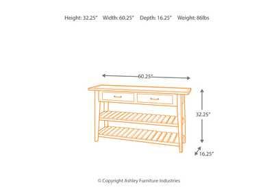 Brandywine Furniture Wilmington De Mestler Sofa Table