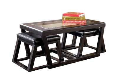 Image for Kelton Cocktail Table w/ 2 Stools