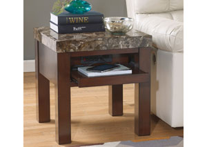 Kraleene Square End Table