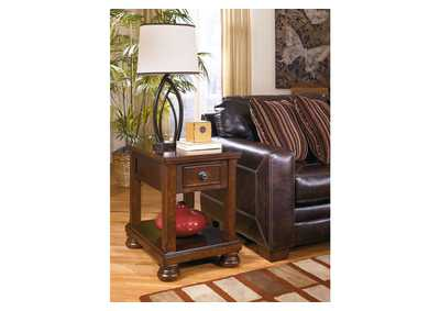 Porter Chair Side End Table