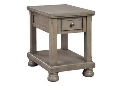 Lettner Gray End Table