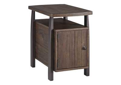 Vailbry Brown Chair Side End Table