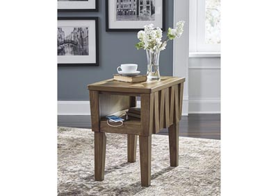 Rowenbeck Brown Chairside End Table,Signature Design By Ashley