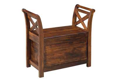 Image for Abbonto Warm Brown Bench