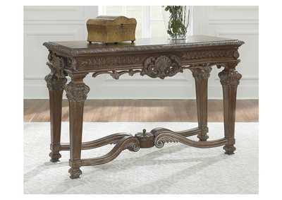 Charmond Brown Console Table
