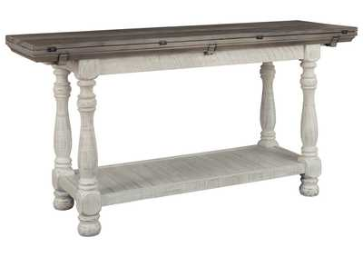 Image for Havalance Gray/White Console Table