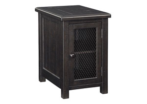 Sharlowe Charcoal Chair Side End Table