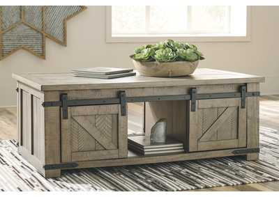 Aldwin Gray Coffee Table