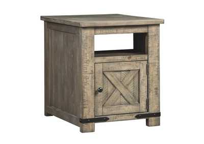 Aldwin Gray End Table