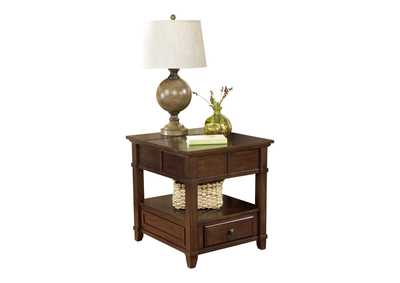Gately Rectangular End Table