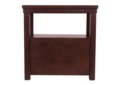 Hatsuko Brown Chairside End Table Underpriced Furniture