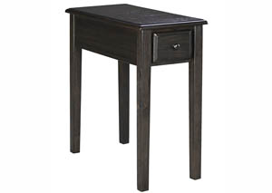 Solid Wood Chair Side End Table